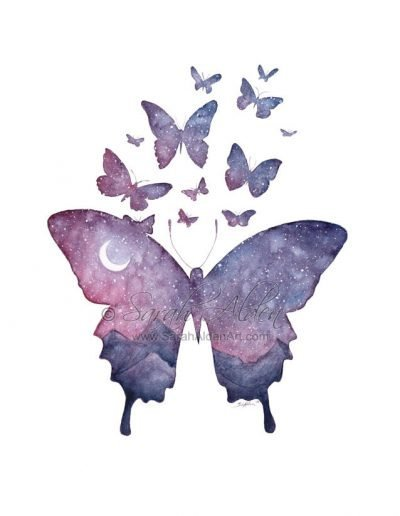 Galaxy-Sky-Butterfly-Watercolor-Art-Print-by-Sarah-Alden