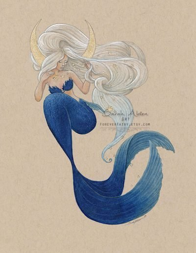Moon-Mermaid-Art-Print-by-Sarah-Alden